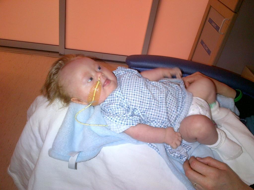 Thomas Before Heart Surgery
