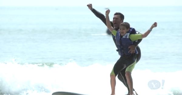 Pro Surfer Changes Autistic Kid's Lives