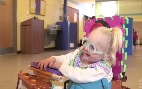 A Man Makes Special Needs Children into Super Heroes