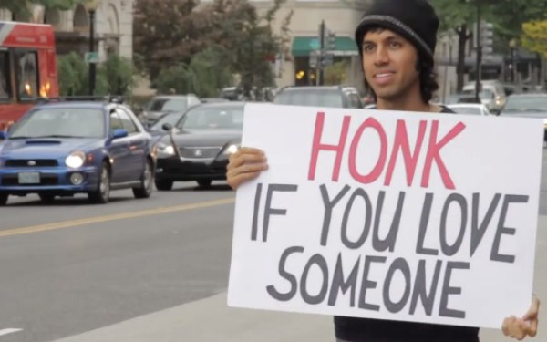 Honk If You Love Someone