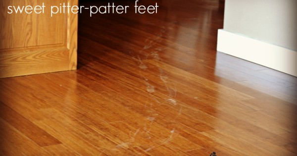 Sweet Pitter-Patter Feet to an Overwhelmed Mom