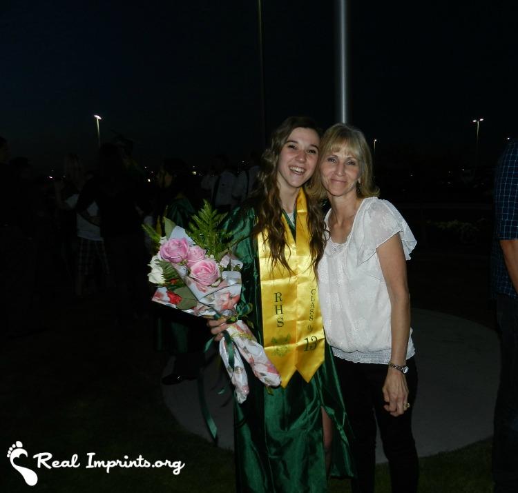 Brandie Kulmus with Mom