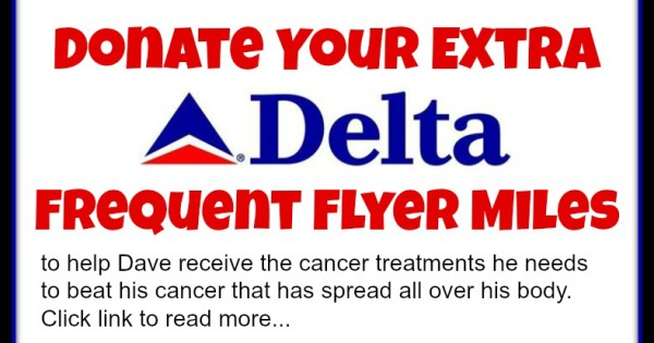 Donate Flyer Miles to Help Beat Cancer
