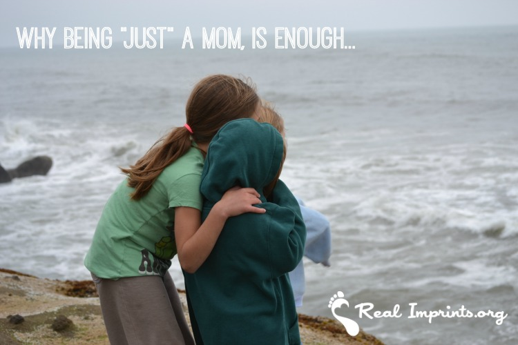 Why Being Just a Mom is Enough