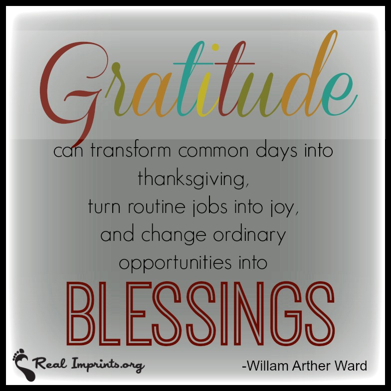 Gratitude and Blessings