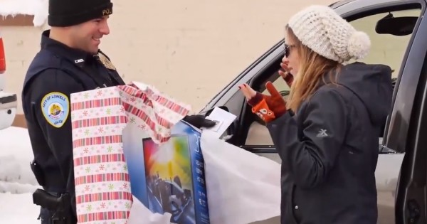 A Police Officer's Christmas Surprise