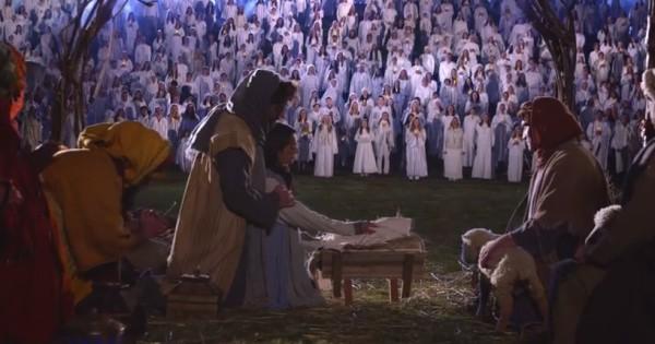 Record Breaking Live Nativity