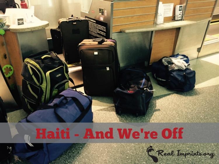 Haiti luggage