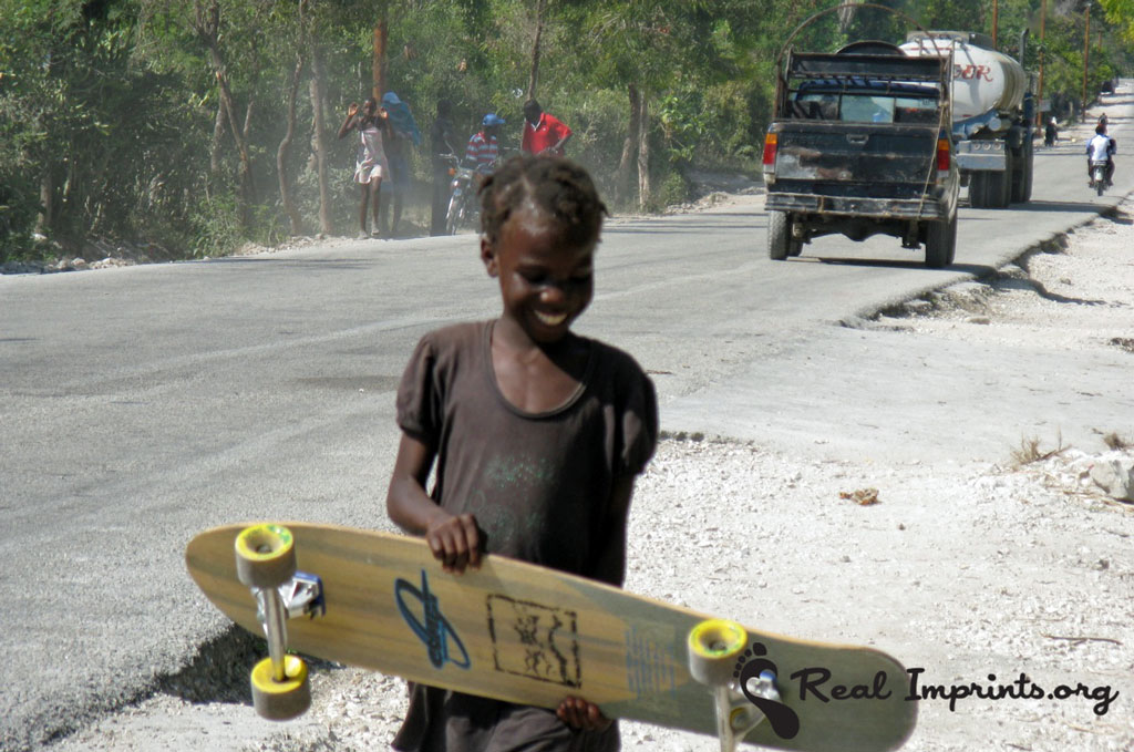 Girl in Haiti