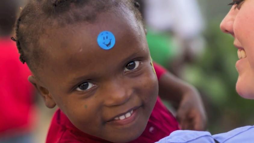 Boy in Haiti