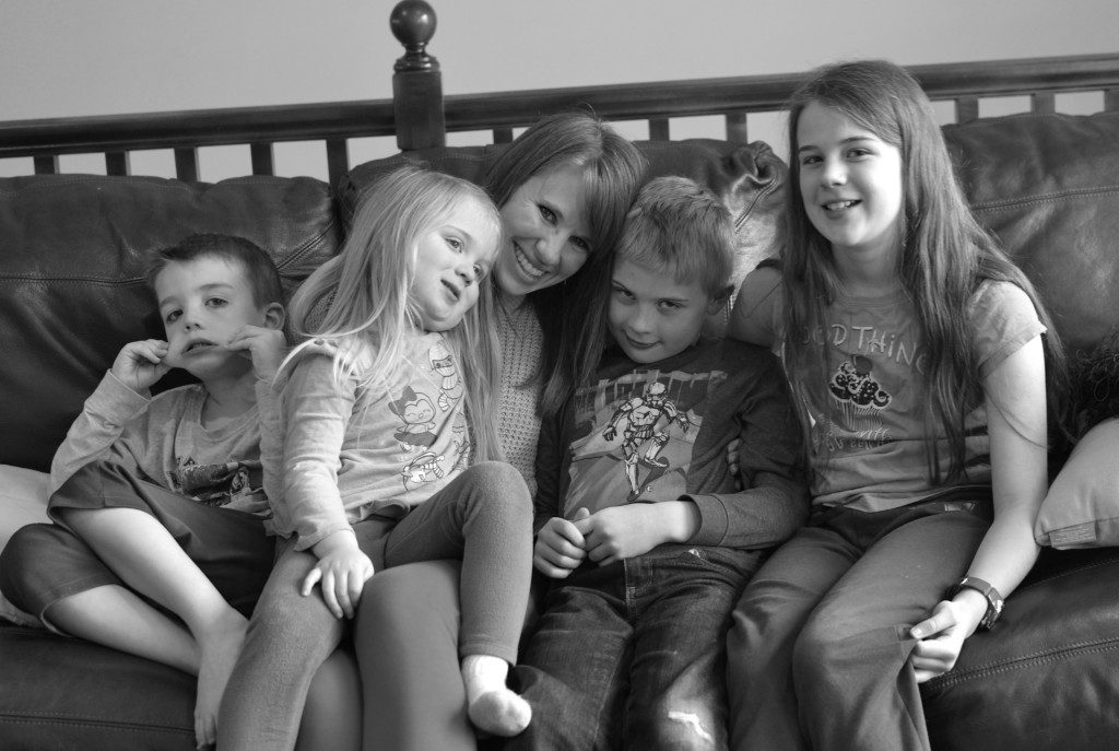 Cheryl with Kids