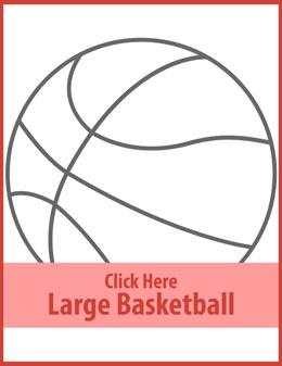 Free printable basketball