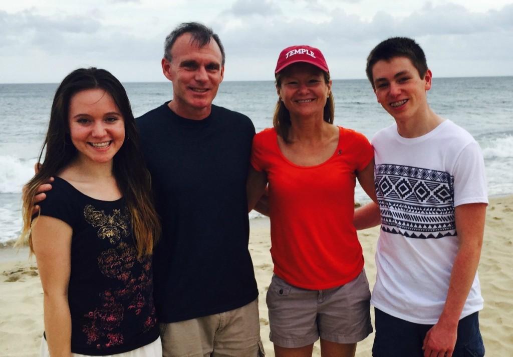 Lauren Zalewski and her family