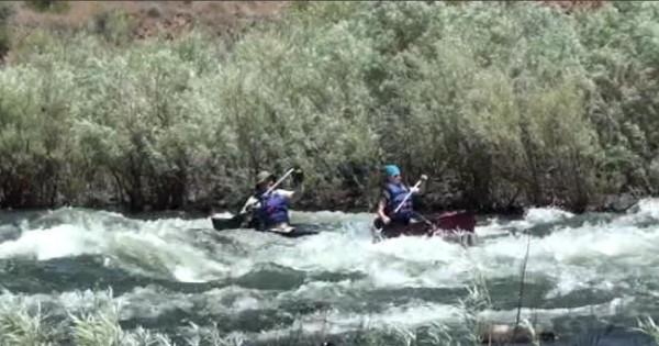 Necks, Bids, and Paddling a Canoe