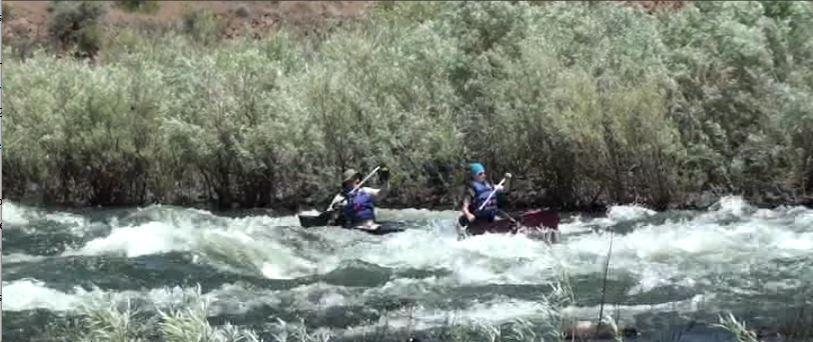 Bids and Paddling a Canoe