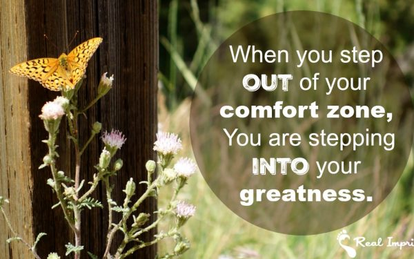 Step Out of Your Comfort Zone Into Greatness