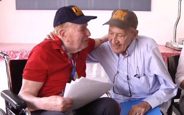 A Holocaust Survivor was Reunited with the WWII Veteran Who Helped Set Him Free