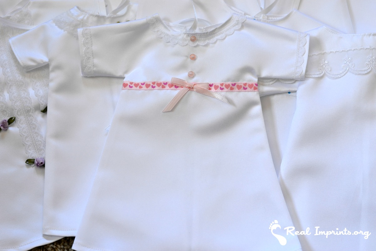 The Angel Gowns Project: Frequently Asked Questions - Real Imprints