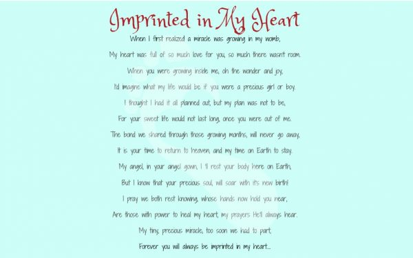 Imprinted in My Heart