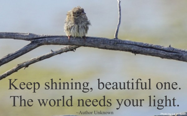 Keep Shining Beautiful One!